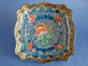 Superb Keeling and Co 'Magnolia' Losol Ware Dish c1925